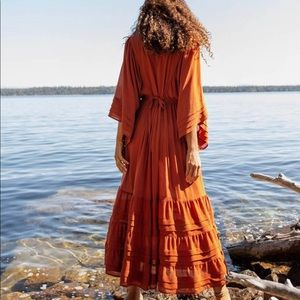 Christ Dawn Ria Dress in Rust XS - Worn Once